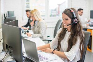 Helpdesk Telefonzentrale Empfang
